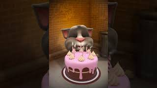 Hum bhi agar bachhe hote... Funny talking tom celebrating his birthday