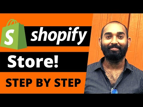 Dropshipping Website | How to Setup a Shopify Store Step by Step thumbnail