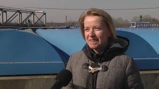 2020-03-26 г. Брест. Очистные сооружения  ГП «Брестводоканал»: засорs. Новости на Буг-ТВ. #бугтв