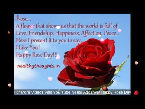 Happy Rose Day My Friend Wishes Greetings Quotes Sms Saying