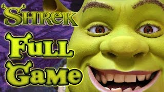 Shrek Walkthrough FULL GAME Longplay (XBOX) 100% collectibles
