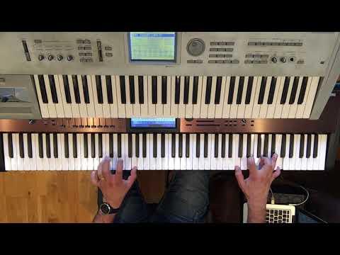 Pink Floyd - Comfortably Numb (Keyboard Cover/Tutorial)