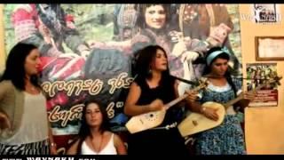 Georgian Folk Group Gogochurebi Sings in Chechen