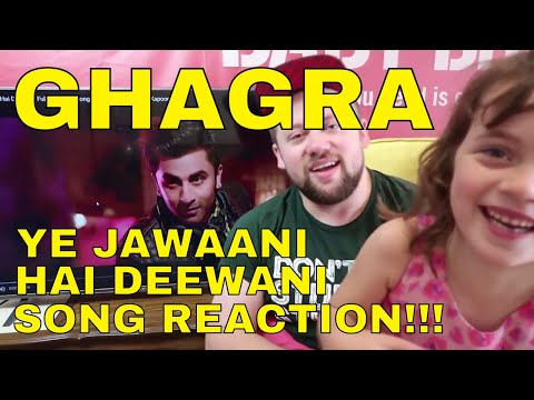 GHAGRA - Yeh Jawaani Hai Deewani - SONG REACTION!!!