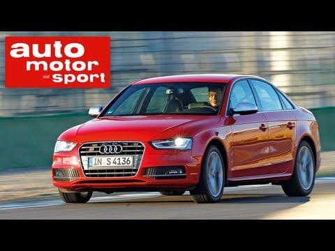 Test Audi S4 vs. Opel Insignia OPC (auto motor und sport TV)