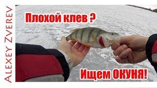 Уловистая мормышка на ОКУНЯ! Зимняя рыбалка. Ловля  на мормышку. Ловля на мотыля.