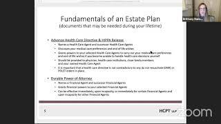 Fundamentals of Estate Planning Workshop