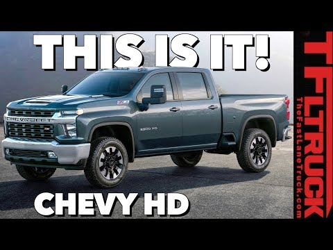 2020 Chevy Silverado HD: You Won't Believe The Way It Looks!