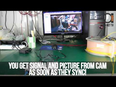 IP Camera Setup over Single Mode Fiber Using Gigabit Fiber Optic Media Converters