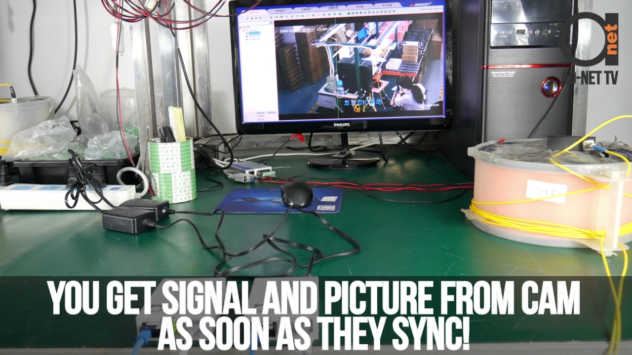 Ip Camera Setup Over Single Mode Fiber Using Gigabit Optic Cat6 Patch Panel Wiring Diagram Media Converters