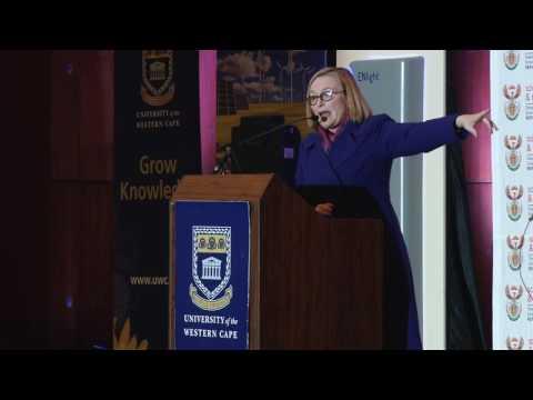 WC Premier Helen Zille's #NSW2016 Speach at UWC