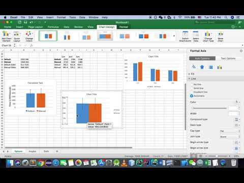 Putting Standard Deviations (Standard Bar Errors) On MS Excel For Mac 2016