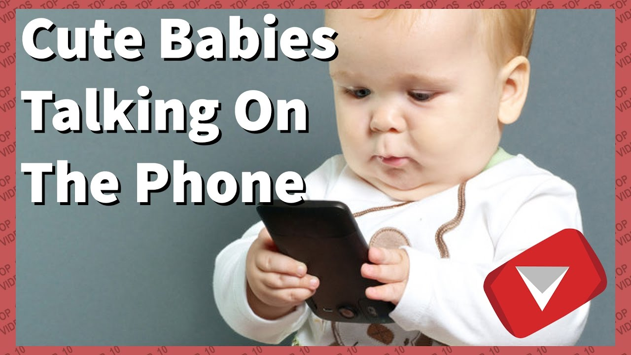 Cute Babies Talking On The Phone [2017] (TOP 10 VIDEOS)