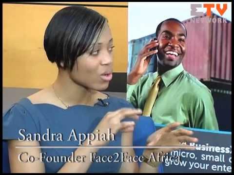 Sandra Appiah  CoFounder, Face2Face Africa