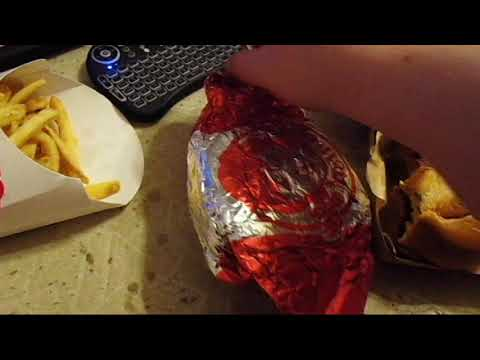 Arby's Venison Sandwich and Wendy's Giant Jr  Bacon CheeseBurger