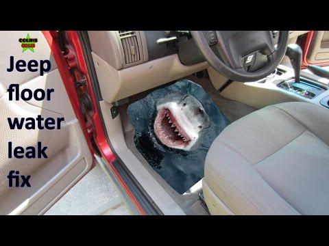 How to fix JEEP floor water leak – Driver & Pass side – EASY