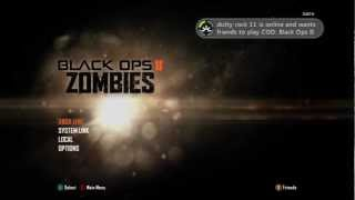 Black Ops 2 How to Reset your Zombie stats for  Xbox 360 only
