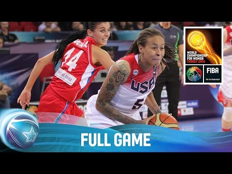USA v Serbia - Full Game - Group D - 2014 FIBA World Championship for Women