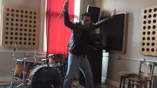 Queen Vocal Cover Medley Hammer to Fall One Vision Driven By You Brian May - Vocal Rehearsal 2019