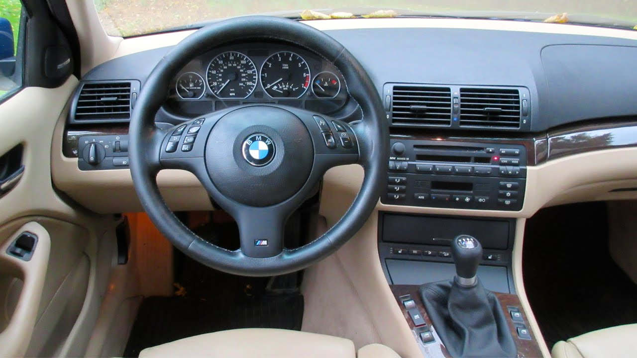 Bmw E46 3 Series Steering Wheel Air Bag Install Removal