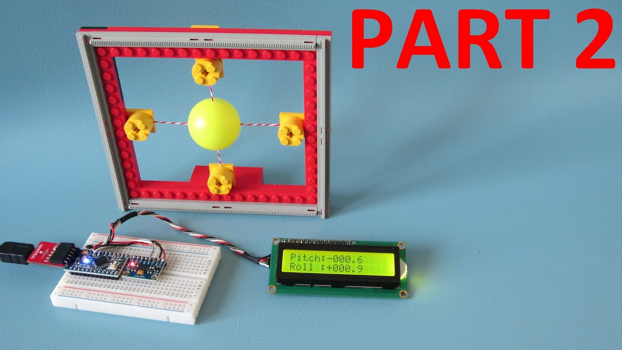 Create a 6dof IMU with a gyro and accelerometer for (Arduino