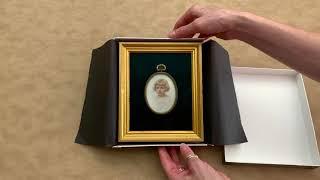 Framing a Treasured Family Portrait