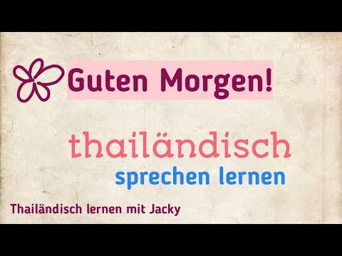 Thai Sprache Lernen L Thailändisch Lernen Für Anfänger