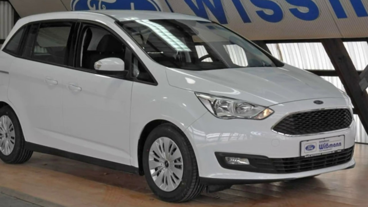 ford grand c max trend gcewjl89549 frost wei autohaus. Black Bedroom Furniture Sets. Home Design Ideas