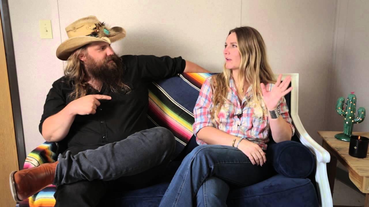 An Interview W Chris Morgane Stapleton Youtube