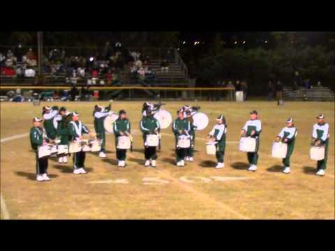 Aquinas High School Drum Corps  11-11-11