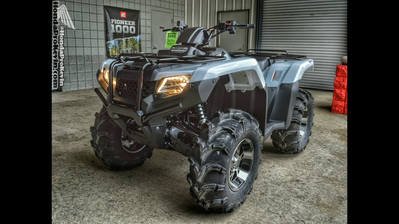 2018 honda rancher 420. wonderful rancher 2016 honda rancher 420 atv itp ss112 wheels u0026 mud lite xl tires  trx420fa5  dct irs four wheeler  youtube for 2018 honda rancher e