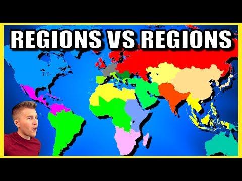 Subcontinent vs Subcontinent: Eurasia, America, Africa, Oceania (HOI4)