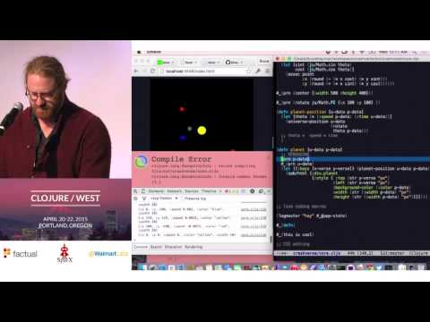 Bruce Hauman - Developing ClojureScript With Figwheel