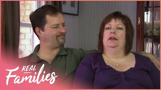Dad Learns To Change A Diaper... With His Third Child | Real Families