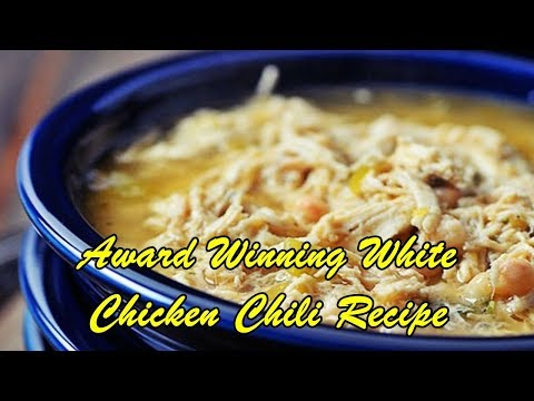 Award Winning White Chicken Chili Recipe