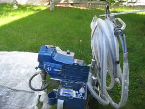 Graco 395 Finish Pro Review   Air Assisted Airless Paint Sprayer