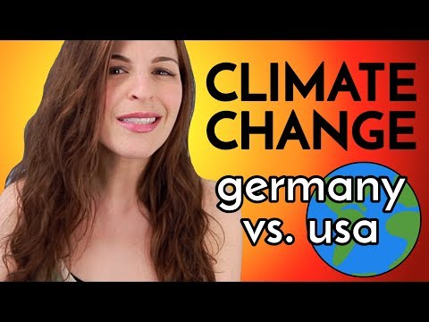 CLIMATE CHANGE: Reaction in Germany vs. USA
