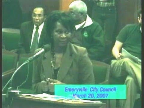 LESLIE POLLARD Wrongful Termination - Mar 20, 2007 - City Council Meeting