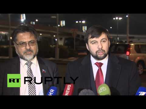 Belarus: 'Kiev imitate a peace process and keep war,' says DPR's Pushilin