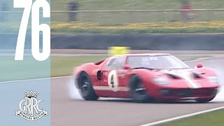 Insane GT40s and Daytona Coupes go overtaking and spinning