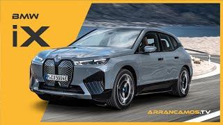 BMW iX 2022 ✅ el nuevo SUV 100% eléctrico ⚡️ 🔋 al detalle en español 🇪🇸