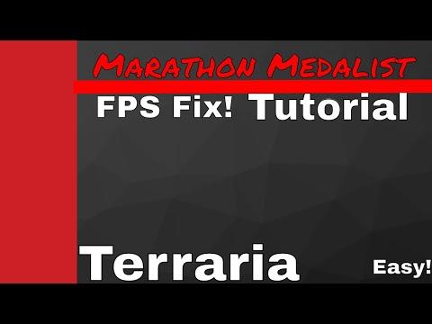 Terraria Marathon Medalist Lag Fix Youtube