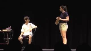 """10 22 16 William's One Act """"The Workout"""""""