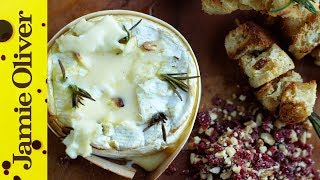 Baked Camembert With Garlic & Rosemary | Jamie Oliver