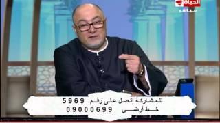 'الجندي' : 'الزكاة مش معمولة علشان نمسي بيها على الحبايب'..'فيديو'