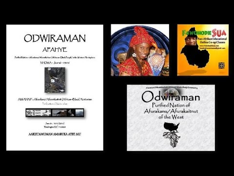 ODWIRAMAN AFAHYE: Purified Nation in the West Conference - Video Submission - Njideka Karmo