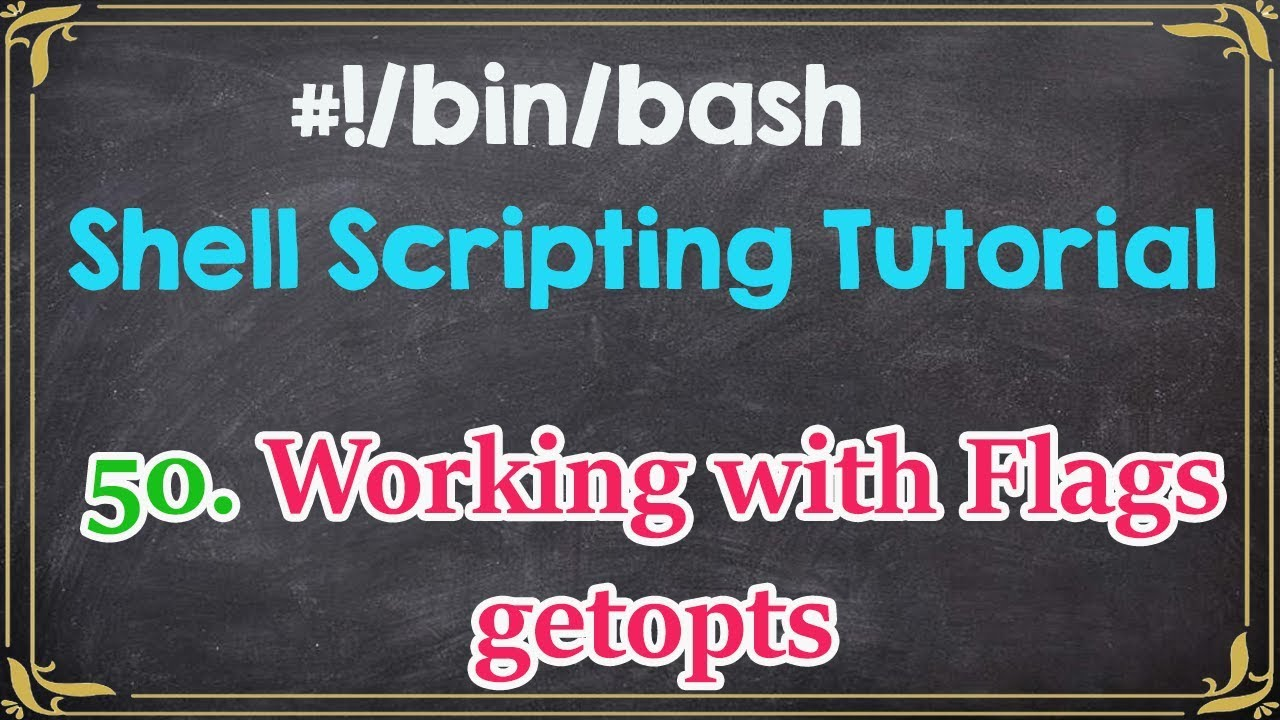 C programming and using getopt youtube.