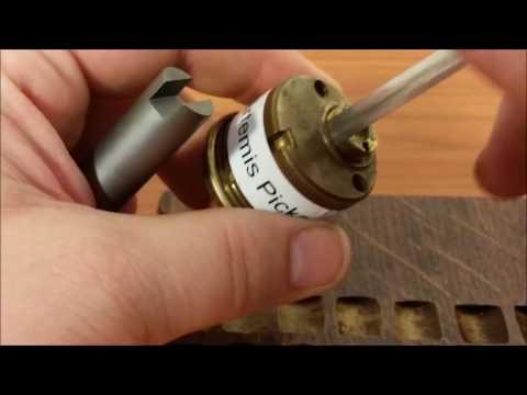 (096) Schlage Challenge lock by Artemis Picks Spp