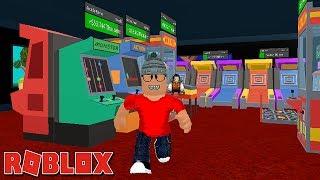 Roblox - MINHA LOJA DE VIDEO GAMES ( Arcade Tycoon )
