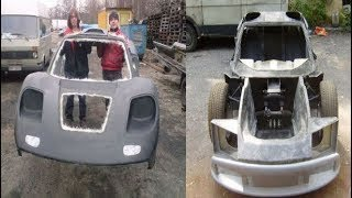This Very Talented Guy build A lamborghini from scratch DIY SUPERCAR